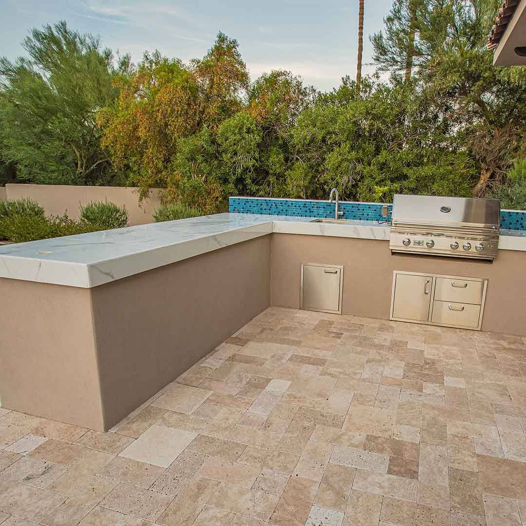 bbq kitchen patio paving Khurana